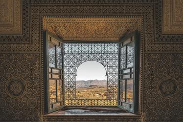 Ausblick aus einer Kasbah (©Dirk Vonten - stock.adobe.com), ©Dirk Vonten - stock.adobe.com