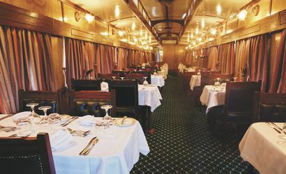 African Explorer - Restaurantwagen - Rovos Rail © Lernidee