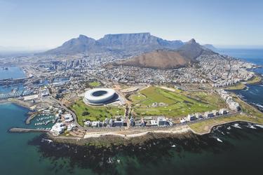 Kapstadt aus der Vogelperspektive © michaeljung - fotolia