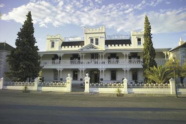 Lord Milner-Hotel in Matjiesfontain © Lernidee