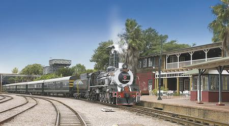 Der Rovos-Bahnhof in Pretoria © Rovos Rail Tous - Lernidee