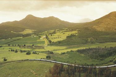 Rovos Rail - Zug von oben © Rovos Rail Tours - Lernidee