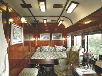 Royal Kabine bei Rovos Rail © Rovos Rail Tours - Lernidee