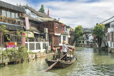 Wasserdorf Zhujiajioa Shanghai (© ake1150 / Fotolia)