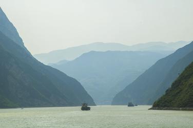 Drei Schluchten Yangtze (© Jakub Wojtowicz / Fotolia)