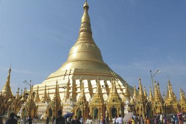 Shwedagon Pagode Yangon, ©Karawane