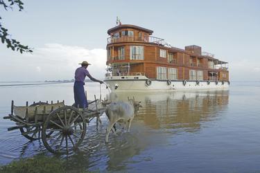RV PAUKAN 2012 auf dem Irrawaddy, ©Aung Myoe - am Graphic