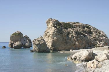 Felsen an der Küste Zyperns