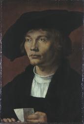 Albrecht Dürer: Bildnis des Bernhard von Reesen, ©bpk | Staatliche Kunstsammlungen Dresden