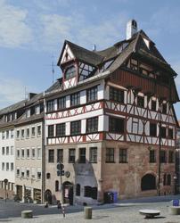 Albrecht-Dürer-Haus in Nürnberg, ©Karl Nömayr, pixabay. com