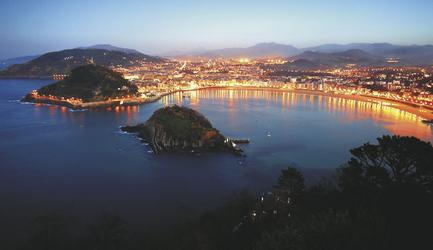 San Sebastian Hafen