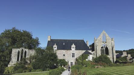 Bretagne -Abbaye de Beauport © P. Germain