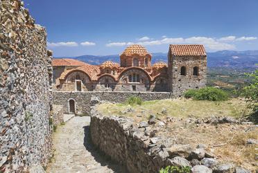 Griechenland - Mystras Ruinen © Nikolai Sorokin - Fotolia