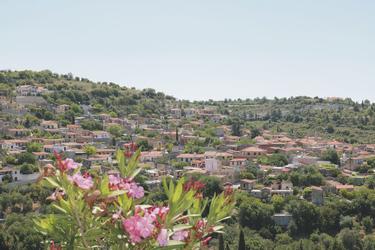 Bergdorf im Troodos Gebirge auf Zypern