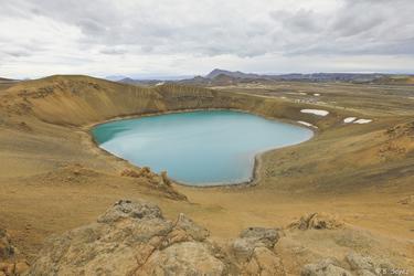 Viti-Krater am Kafla, ©Sina Soyez