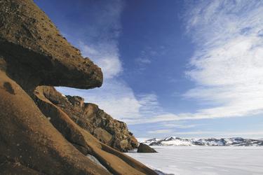 Kleifarvatn im Winter - ©Olgeir Andresson