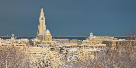 Winter in Reykjavik - ©Ragnar Th Sigurdsson/www.Arctic-Images.com