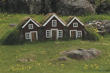 Elfenhäuser bei Djupivogur