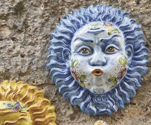 Erice, sizilianische Keramik, ©Karawane