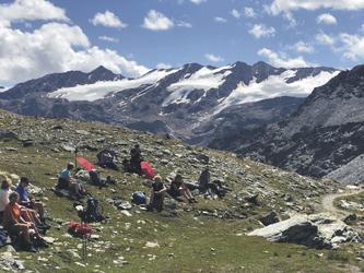 Rast auf dem Weg nach Sulden, ©Hagen Alpin Tours