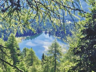 Blick zum Molvenosee , ©Hagen Alpin Tours
