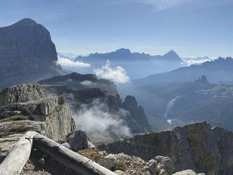 Blick in die Dolomiten, ©Hagen Alpin Tours