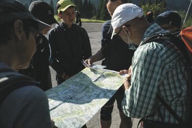 Tagesplanung mit Karte , ©Hagen Alpin Tours