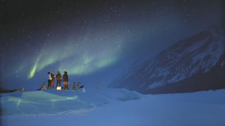 Nordlichter in Kanada