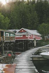 Vancouver Island, Telegraph Cove, Bordwalk, ©Destination BC