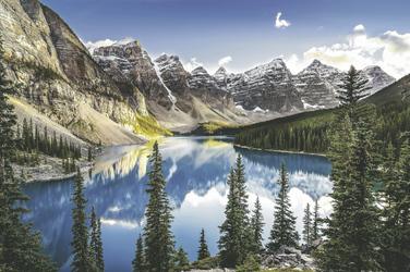 View of Moraine Lake, ©MartinM303