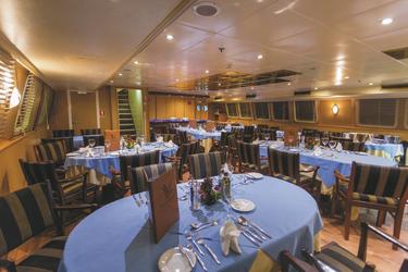 Restaurant - copyright Variety Cruises