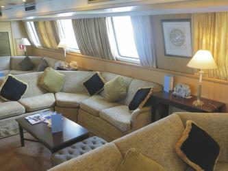 Lounge-Bereich - copyright Variety Cruises