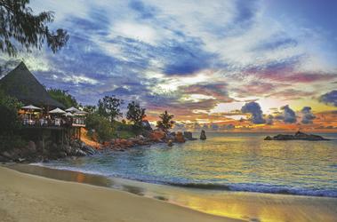 Sonnenuntergang auf den Seychellen - copyright Variety Cruises
