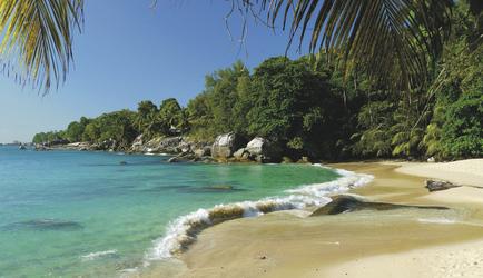 Strand auf Mahe Island - copyright Variety Cruises