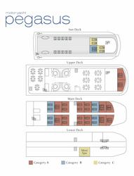 Decksplan - copyright Variety Cruises, ©Variety Cruises