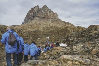 Wanderung bei Uummannaq - c Chelsea Claus, ©Chelsea Claus