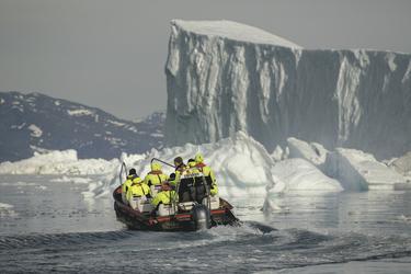 Ausflug mit dem Polarcirkel-Boot - c Mads Pihl, ©Mads Pihl