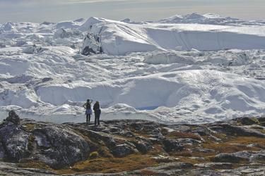 Aussicht auf den Eisfjord - c Thomas Haltner, ©Thomas Haltner, Germany