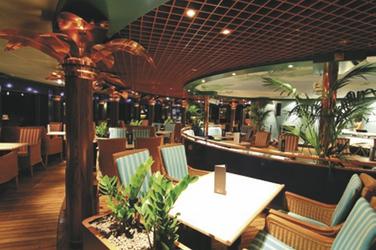 Restaurant Palmgarten der MS HAMBURG - plantours Kreuzfahrten, ©plantours Kreuzfahrten