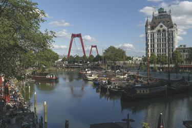 Am Museumshafen in Rotterdam, ©Markus Abeling