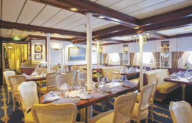 Restaurant auf der SY STAR CLIPPER, ©Fotografie Dirk MeußlingHeinrich-Könecke-Straße 530916 Isernhagen KBMobile_ 0172/5440499