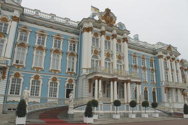 Hauptportal des Katharinenpalastes - c Constanze Rickert