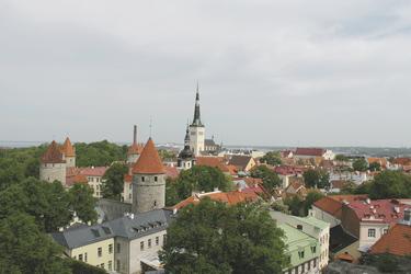 Blick über Tallin - c Constanze Rickert