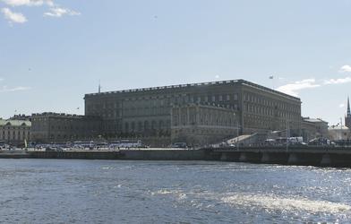 Königliches Schloss in Stockholm - c Constanze Rickert