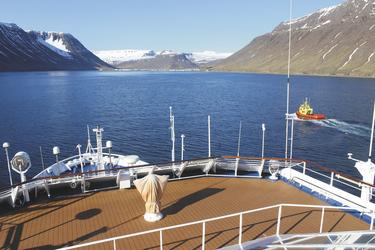 Hafeneinfahrt von Isafjördur - c Island ProTravel, ©Island ProTravel