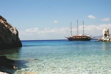 Schwimmstopp in einer abgelegenen Bucht - Variety Cruises