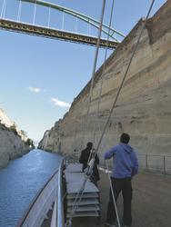 Fahrt durch den Kanal von Korinth - Variety Cruises