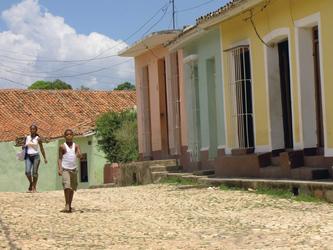 Straßenszene in Trinidad