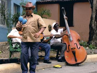 Straßenmusik, Santiago de Cuba