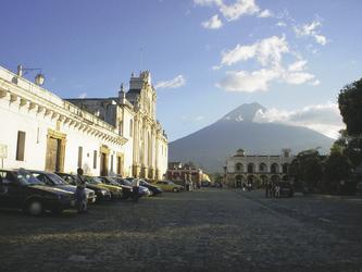Vulkan del Fuego bei Antigua